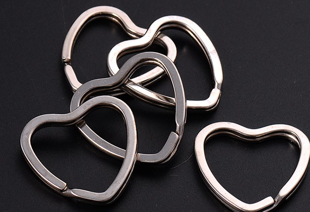 Stainless steel keychain's ring