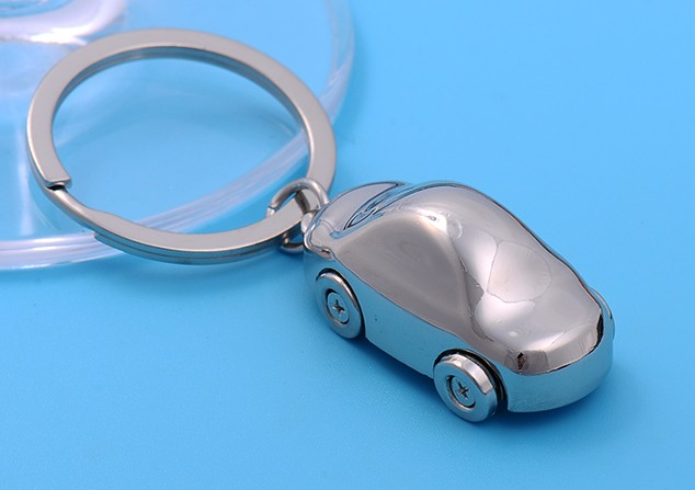 Zinc alloy car keychain