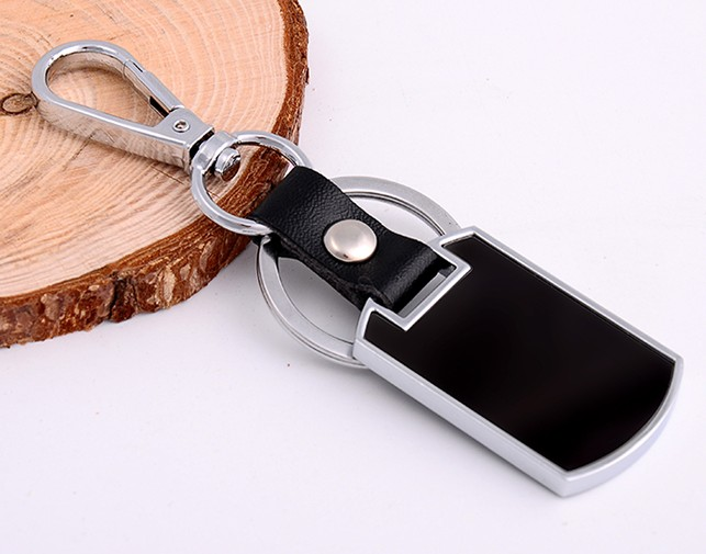 Stainless steel tag classic keychain