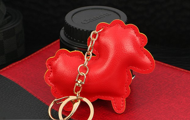 Cartoon sheep keychain