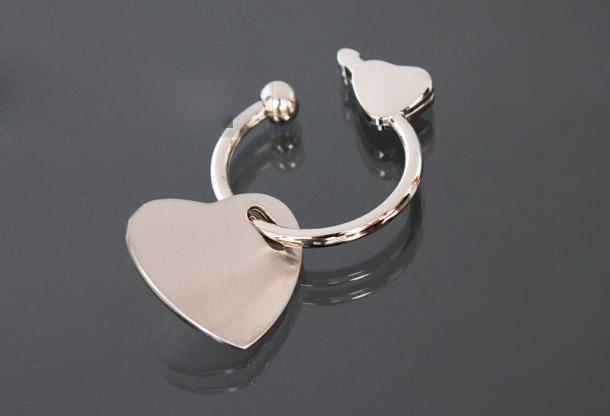Heart Shape TAG keychain