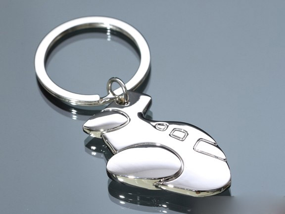 Mini aircraft keychain