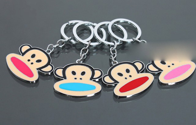 Big mouth monkey keychain