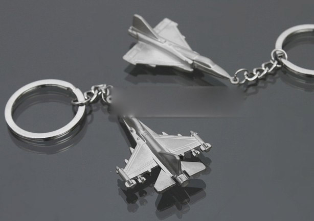 Fighter model keychain