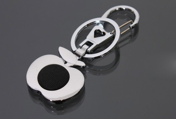 Apple LED keychain