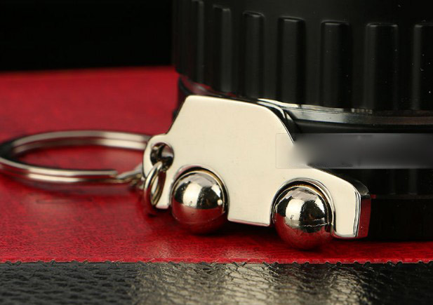 Creative car alloy keychain
