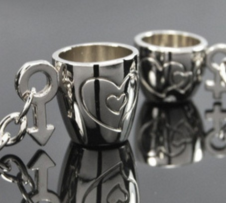 mug cups couple Keychains
