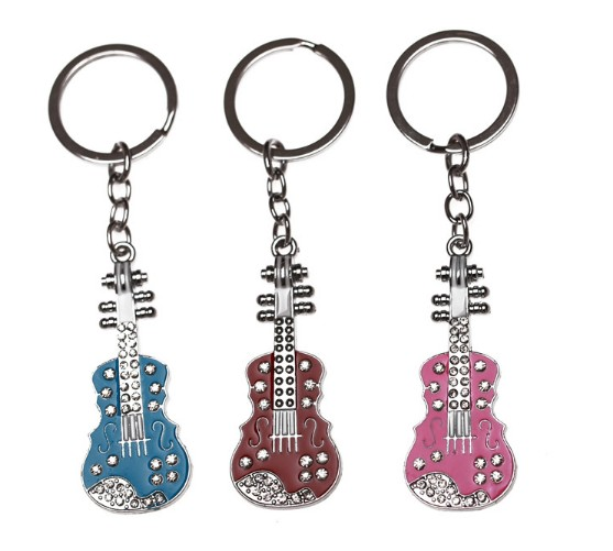 Cello alloy keychain