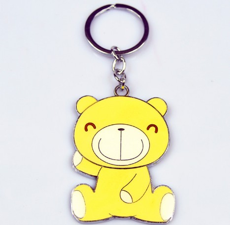 Cartoon bear keychain