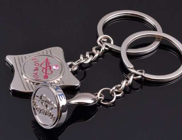Love's stamp keychains