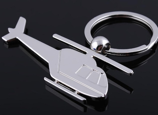 Helicopter keychain