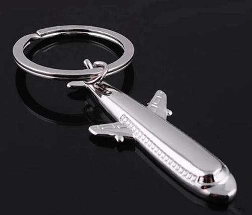 Airbus aircraft keychain