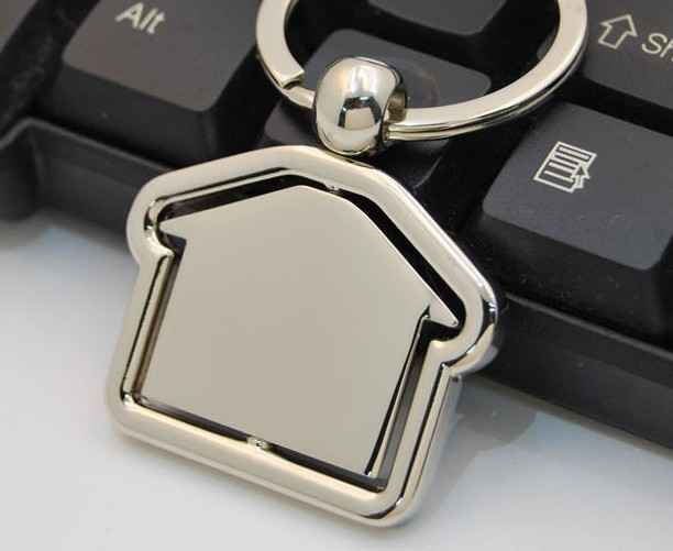 Creative house keychain
