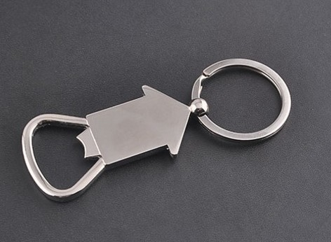 House bottle opener keychain