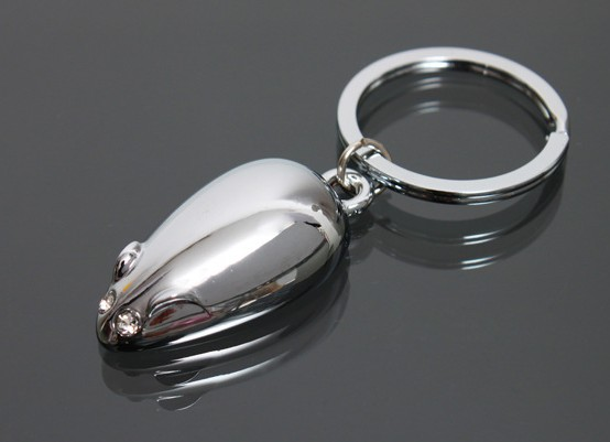 Alloy Mouse keychain
