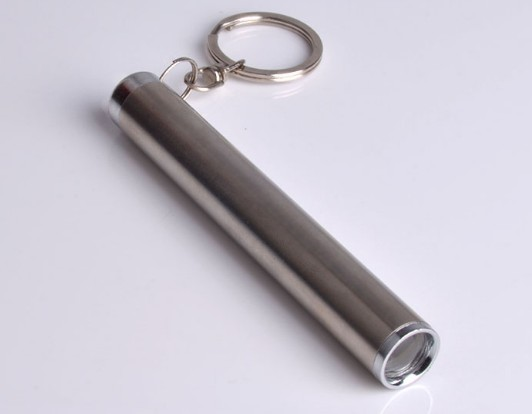 Waterproof LED Flashlight keychain