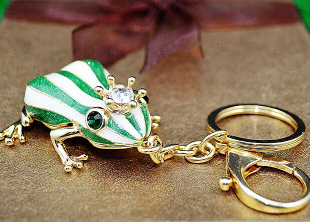 Lovely Frog Keychain