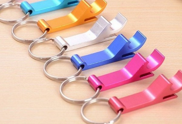 Multi-purpose Opener Keychain