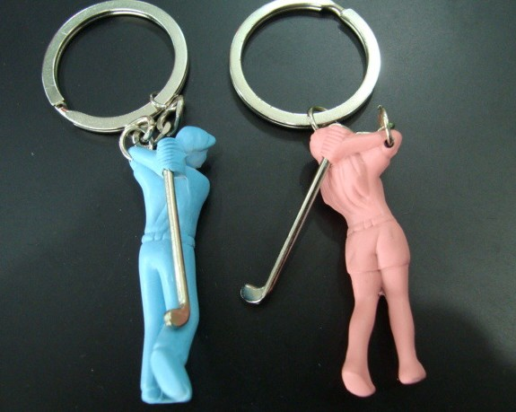 Golf Sports Keychain