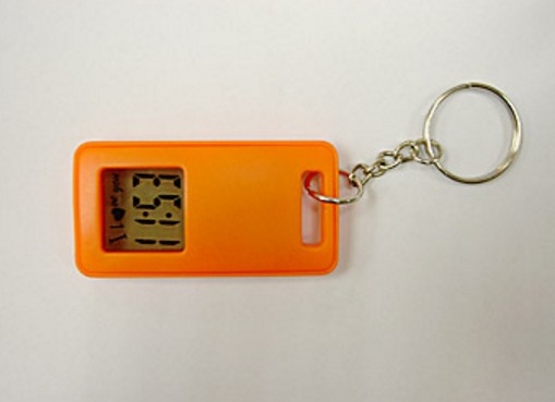 Rectangular Watch Keychain