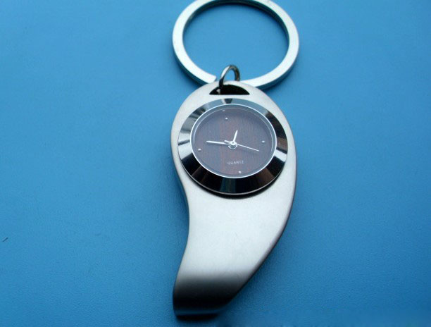 zinc alloy fashion watch keychain