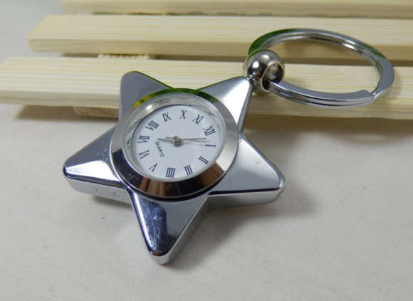 star watch keychain