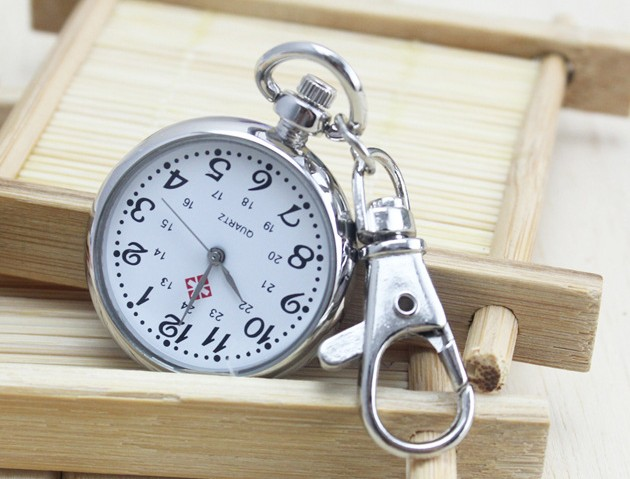 Nurses clock Keychain