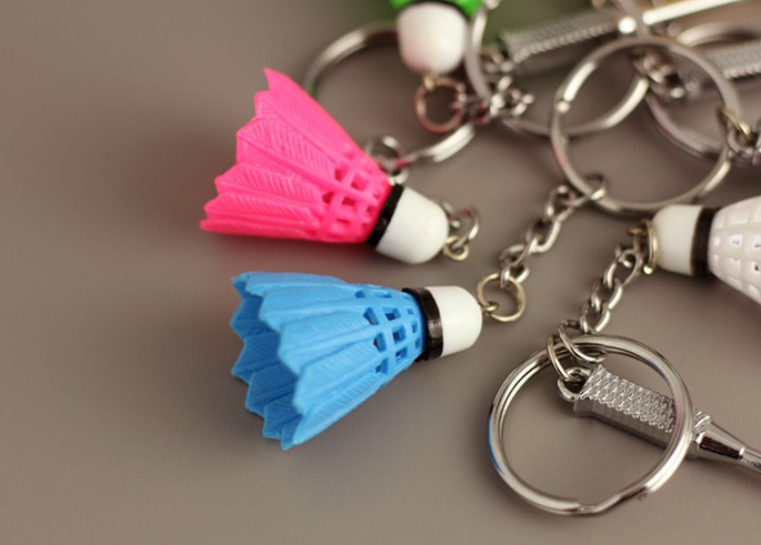 Mini Badminton keychain