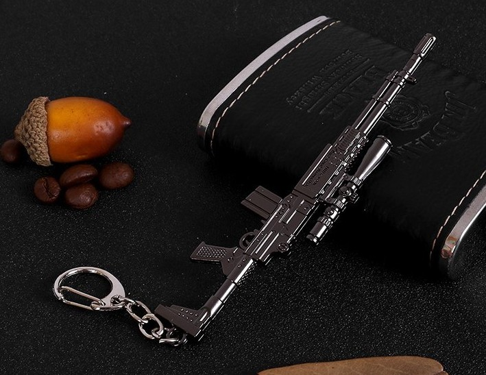 Firearm Model Keychain