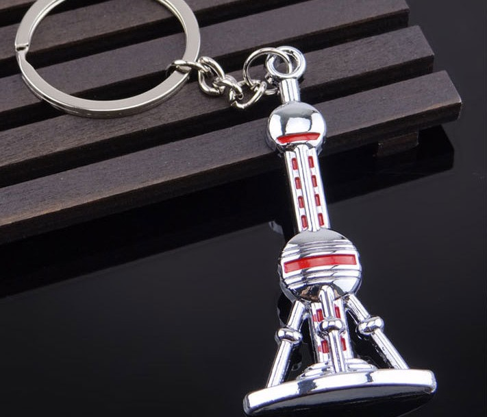 Oriental Pearl Tower Keychain