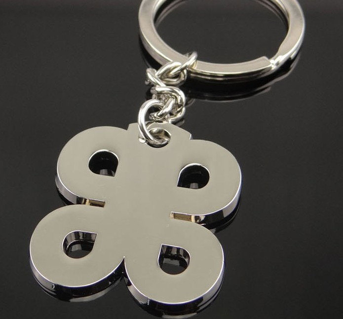 Chinese knot alloy keychain
