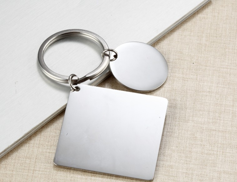 Love photo calendar keychain
